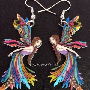 Jewelry - Fairy Multicolored Earrings